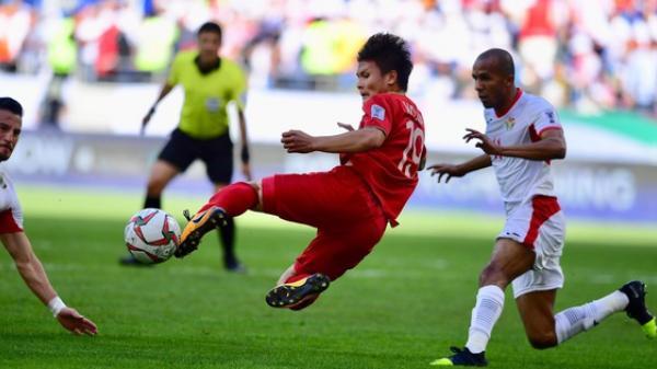 Việt Nam vượt trội Jordan ở tất cả chỉ số thống kê trong suốt 2 hiệp đấu chính thức