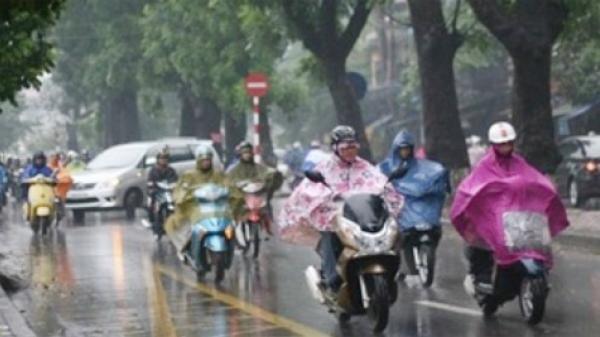 CẤP BÁO: Cuối tuần, miền Bắc đón không khí lạnh tăng cường và mưa dông
