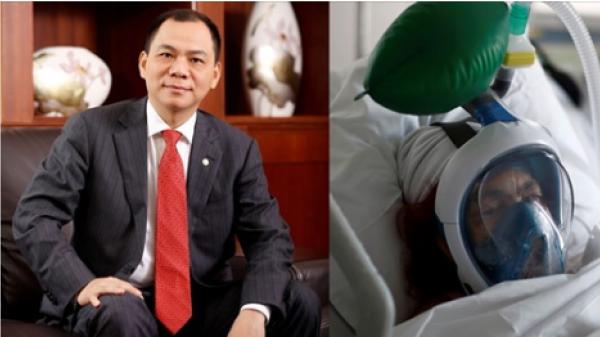 Forbes tôn vinh ông Phạm Nhật Vượng trong danh sách tỷ phú nổi bật tham gia chống dịch