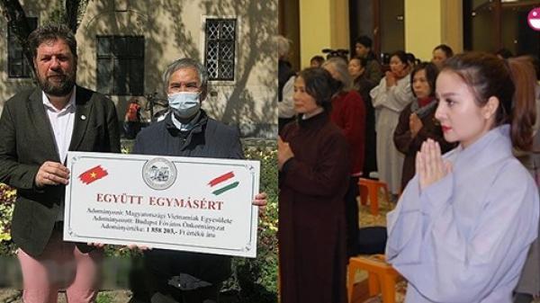 Báo Hungary cùng người dân địa phương tấm tắc ngợi ca hành động và tấm lòng đẹp của cộng đồng người Việt trong mùa dịch