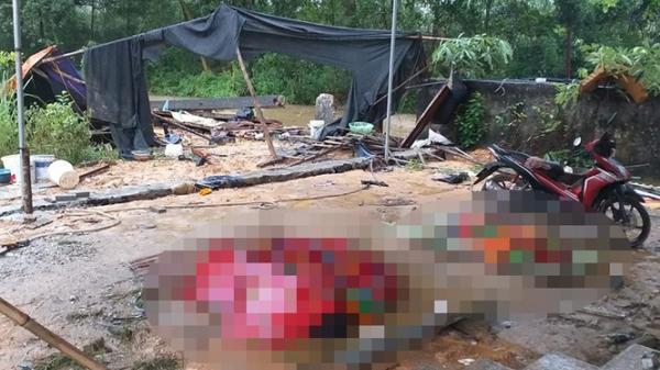 Tường rào đổ sập trong đêm mưa, 3 thợ xây quê Hà Giang chế t th ương tâm