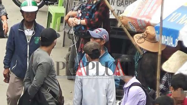 Băng móc túi khu Suối Tiên dọa đánh c hết phóng viên