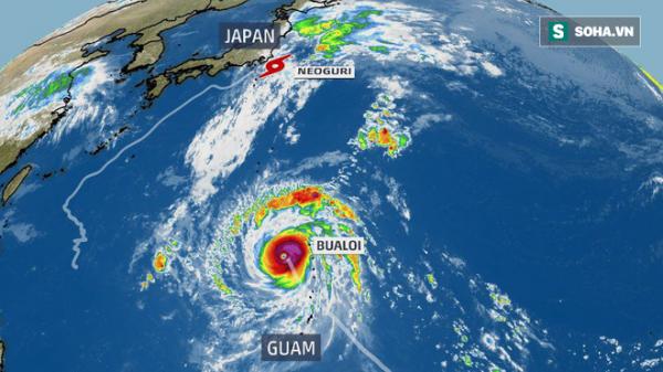 Song bão xuất hiện, 1 cơn có thể tăng cấp dữ dội thành siêu bão: Có vào nước ta không?