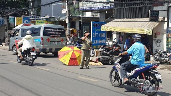 Cô gái 20 tuổi bị xe tải cán c hết trên phố Sài Gòn