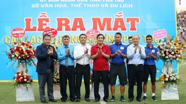 Chính thức ra mắt CLB Bóng đá Tuấn Tú Phú Thọ