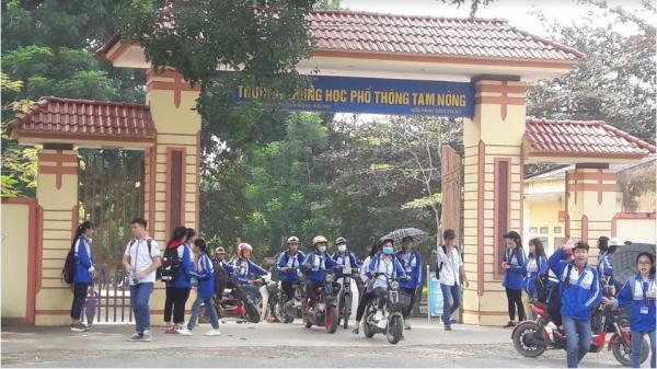 Trường THPT Tam Nông - Điểm sáng của ngành Giáo dục Phú Thọ