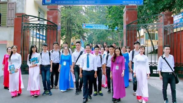 Trường THPT Phong Châu (Phú Thọ): Trường học gắn với di sản