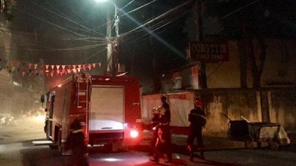 Liên tiếp xảy ra cháy do chập điện ở Phú Thọ