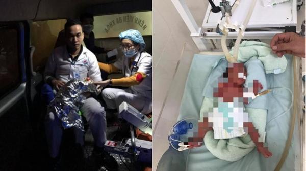 12 tiếng đồng hồ xuyên đêm giành lại sự sống cho cháu bé nặng 8 lạng của các bác sĩ Phú Thọ