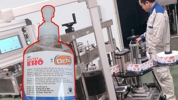 Sở Y tế Hưng Yên vào cuộc vụ thương hiệu nước sát khuẩn bị tố lừa dối