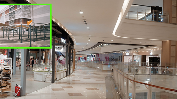 Trung tâm thương mại, siêu thị lớn ở Sài Gòn vắng hoe: Bãi giữ xe rộng thênh thang không một bóng người