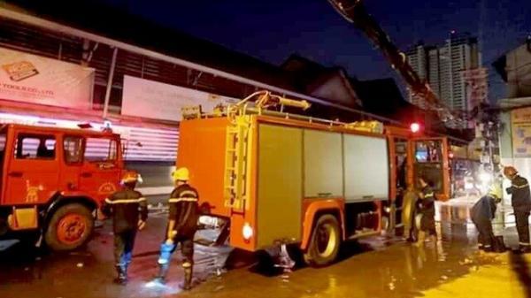 TP.HCM: Cháy nhà ở gần chợ hóa chất Kim Biên, 1 người tử vong