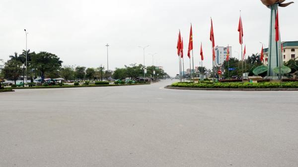 Chùm ảnh thành phố Hưng Yên ngày đầu thực hiện đợt cao điểm phòng, chống dịch Covid - 19