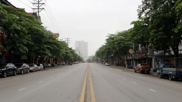 Phú Thọ: Ngày đầu tiên thực hiện cách ly toàn xã hội