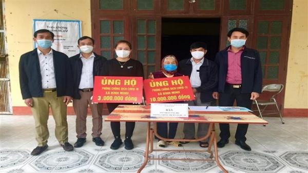 Cụ bà 87 tuổi ở Hưng Yên dành 10 triệu tiền trợ cấp ủng hộ phòng chống dịch COVID - 19