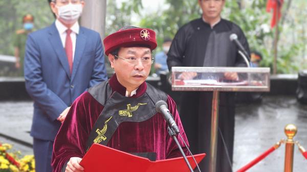 Lễ dâng hương tưởng niệm các Vua Hùng năm Canh Tý 2020