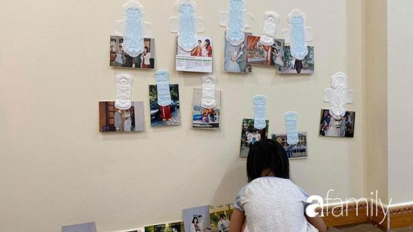 """Để 2 con gái tự chơi vài phút, bà mẹ Phú Thọ méo mặt khi thấy """"kiệt tác"""" trên tường, đến ảnh cưới cũng không tha"""