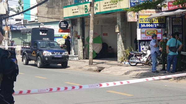 Một đoạn phố Sài Gòn bị phong tỏa vì chiếc vali vô chủ