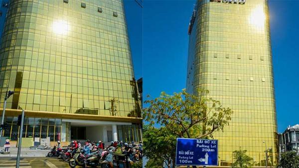 Tòa nhà 'dát vàng' hắt nắng thẳng xuống đường khiến nhiều người nhức mắt