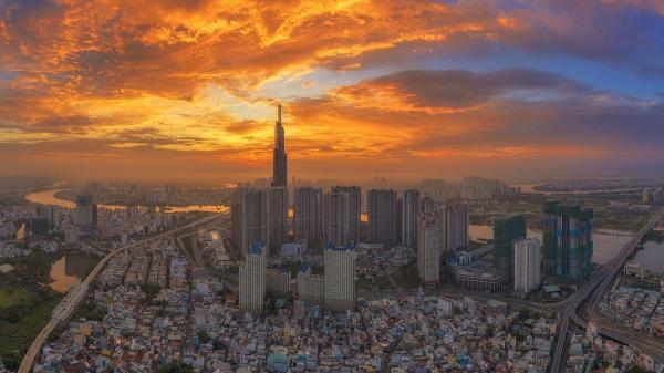 Sài Gòn từ trên cao: Bình minh hay hoàng hôn đều đẹp đến ngỡ ngàng