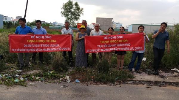 Hàng loạt người dân Sài Gòn có nguy cơ trắng tay, mất tiền tỷ vì mua nhà bằng hợp đồng đặt cọc