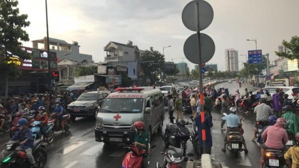 Thắng gấp ngã ra đường, thanh niên bị xe rác cán tử vong ở Sài Gòn