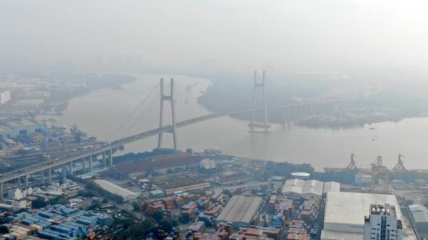 """Con đường ven sông trị giá """"tỷ đô"""" ở Sài Gòn nhìn từ trên cao"""