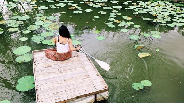 Cánh Đồng Hoa: homestay trên mặt nước độc nhất Sài Gòn
