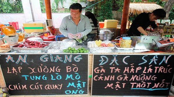 TP. HCM giới thiệu ẩm thực đường phố 'Sài Gòn xưa và nay'
