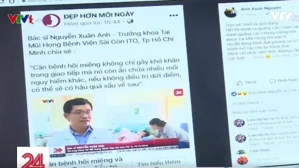 Nhiều bác sĩ ở TP. HCM bức xúc khi bị mạo danh trên mạng xã hội để bán thuốc
