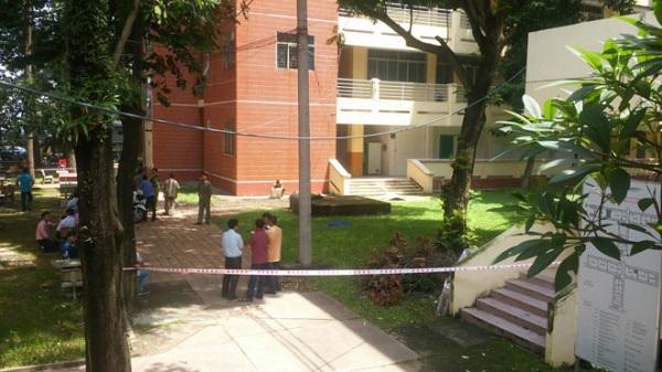 Sinh viên chết trong khuôn viên ĐH Sư phạm Kỹ thuật TP. HCM