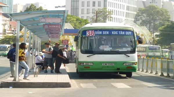 TP. HCM: Tăng 10 chuyến buýt phục vụ lễ Giỗ tổ Hùng Vương