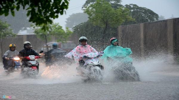 TP. HCM sẽ tiếp tục mưa về chiều trong 3 ngày tới