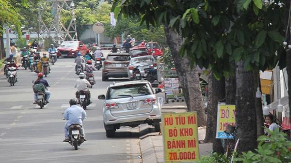 Trung tâm Sài Gòn như chưa từng có chiến dịch dẹp vỉa hè