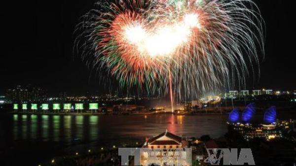 Thành phố Hồ Chí Minh được phép bắn pháo hoa chào mừng năm mới 2018