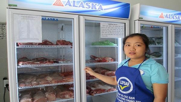 TP. HCM có điểm bán thịt heo 35.000 đồng/kg
