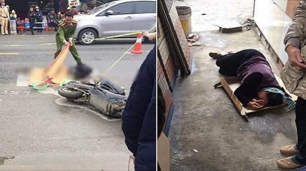 Người thân khóc ngất bên thi thể nam sinh lớp 10 bị xe khách đâm tử vong trên đường đi học về