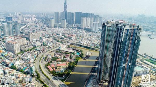 Những hình ảnh mới nhất về tòa nhà ở Sài Gòn cao nhất Việt Nam trước ngày cất nóc