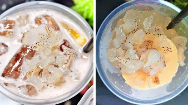 Sứa - topping trà sữa cực lạ đang khiến giới trẻ Sài Gòn mê mẩn