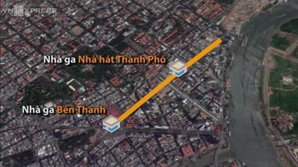 Clip: 3 nhà ga dưới lòng đất của tuyến metro Bến Thành - Suối Tiên