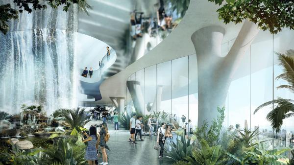 """Cận cành """"khu rừng trên mây"""" giữa lòng TP. Hồ Chí Minh trong tương lai"""