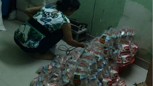 TP.HCM: Kinh hoàng phát hiện hơn 1 tấn bột ngọt giả nhãn hiệu Ajinomoto chuẩn bị tung ra thị trường ngày cận Tết
