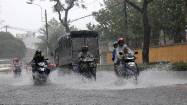 Thời tiết 2/4: Sài Gòn vẫn mưa, nhiệt độ xuống dưới 23 độ