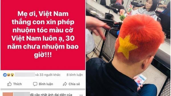 """U23 Việt Nam giành vé vào chung kết, hàng loạt người hâm mộ """"cạo đầu, cởi áo"""" sau lời tuyên bố trước đó"""