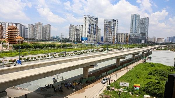 Clip toàn cảnh tuyến Metro Bến Thành - Suối Tiên đang thành hình rõ dáng sau 5 năm thi công