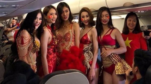 Vụ người mẫu biểu diễn bikini trên máy bay đón U23 Việt Nam: Xử phạt Vietjet Air 40 triệu đồng