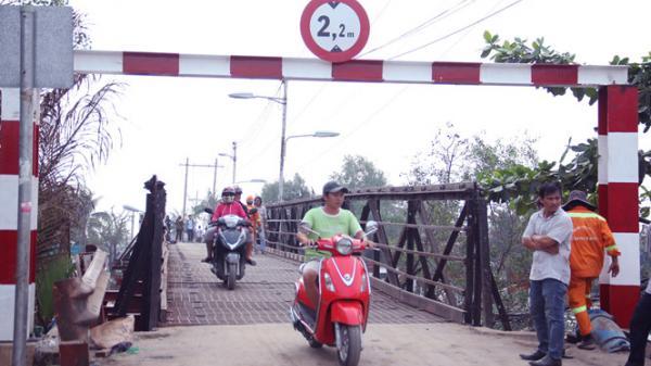 Thông xe cầu Long Kiểng sau 12 ngày xảy ra sự cố sập cầu