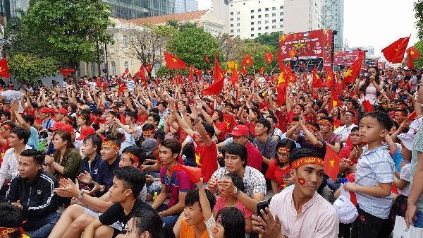 25000 vé miễn phí cho người dân TP Hồ Chí Minh giao lưu với đội tuyển U23 Việt Nam