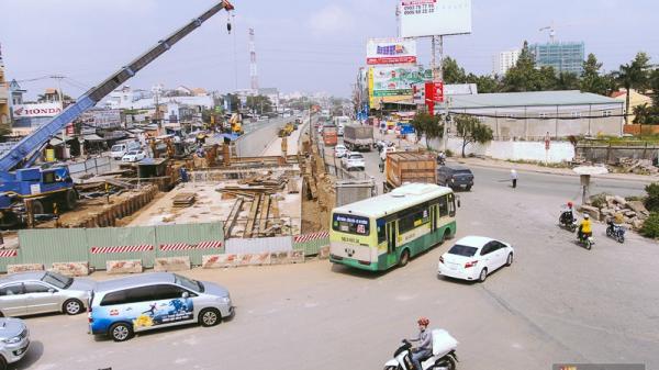 Cận cảnh hai nút giao thông 3 tầng đầu tiên ở Sài Gòn có tuổi thọ 100 năm, chịu được động đất cấp 7