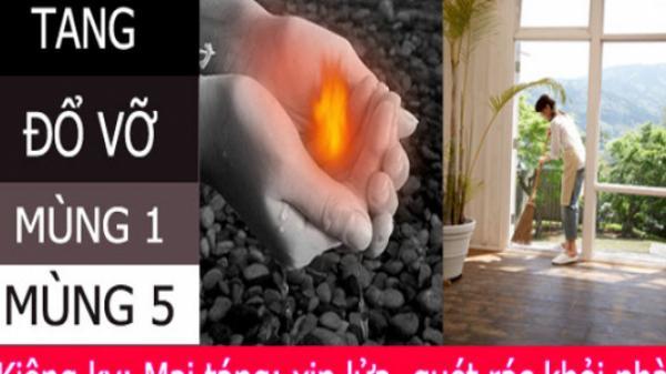 8 điều kiêng kỵ và 4 điềm lành trong ngày Tết Nguyên đán